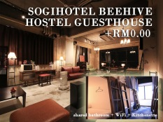 Sogihotel Beehive + RM0.00/Pax
