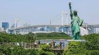 Odaiba- liberty statue